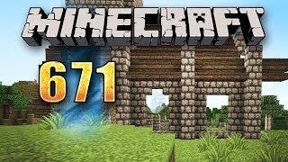 Minecraft #671 [GER] - Das größte Dach der Welt - Let