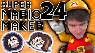Super Mario Maker: Throwing Down - PART 24 - Game Grumps