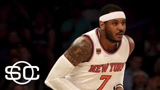 Knicks And Rockets Re-Engage In Carmelo Anthony Trade Talks | SportsCenter | ESPN