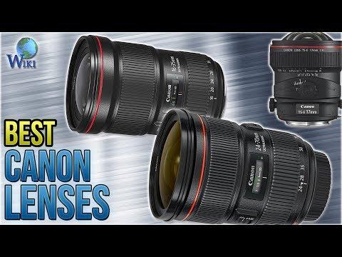 10 Best Canon Lenses 2018