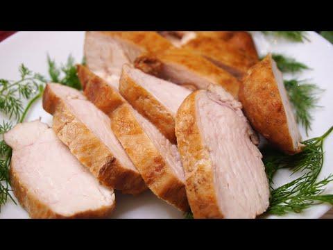 Вместо колбасы на завтрак, или на ужин к гарниру Мясо Моментальное за 9 минут .