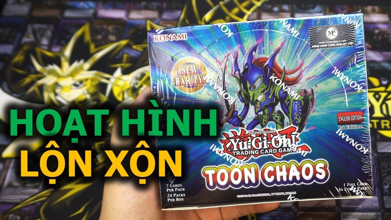 Trên tay mở hộp Toon Chaos Yugioh Booster - Có đáng mua hông? M2DA