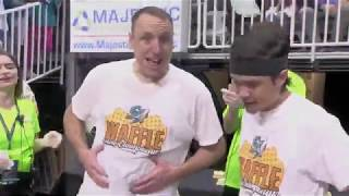2019 San Jose Barracuda Waffle Eating Championship