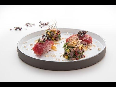Ceviche και Sashimi Τόνου του Δημήτρη Σκαρμούτσου!