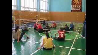 Волейбол сидя тренировка