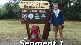 The Colorado Trail : Video Time Lapse : Seg # 1