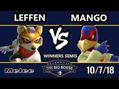 TBH8 SSBM  TSM  Leffen Fox Vs C9  Mang0 Falco  Smash Melee Winners Semis