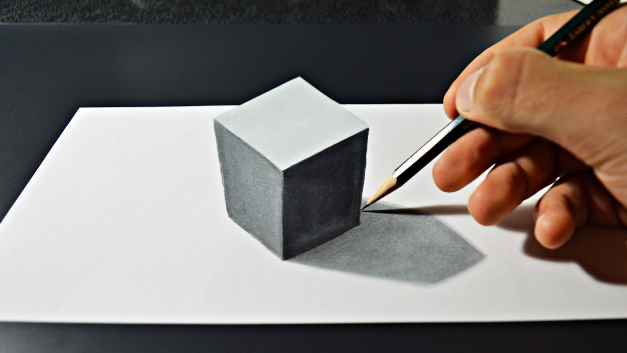 3d artwork on paper