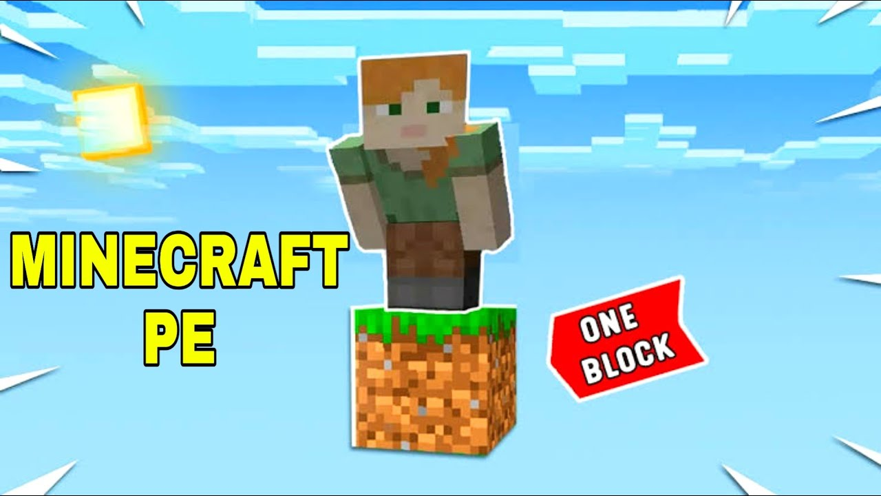 How to Download Install One Block on MC PE 1 Block Kaise Khele