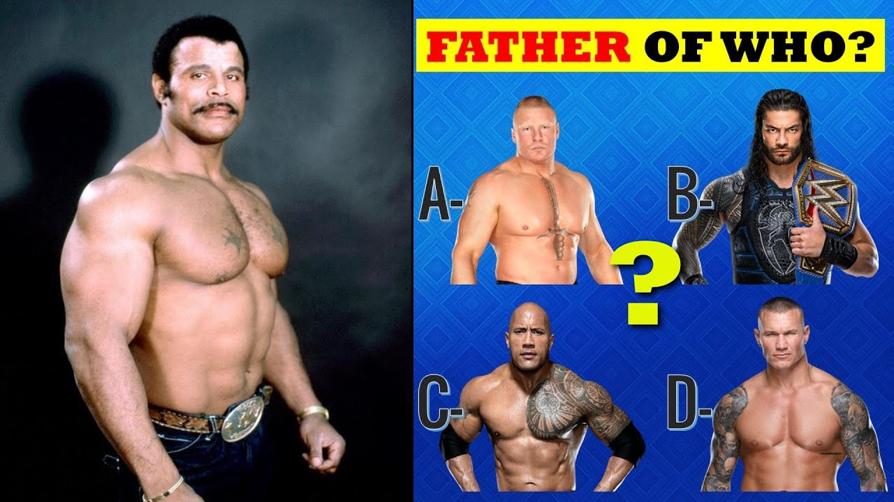 WWE QUIZ | Guess WWE Superstars by Their Father | Happy Father Day 2021