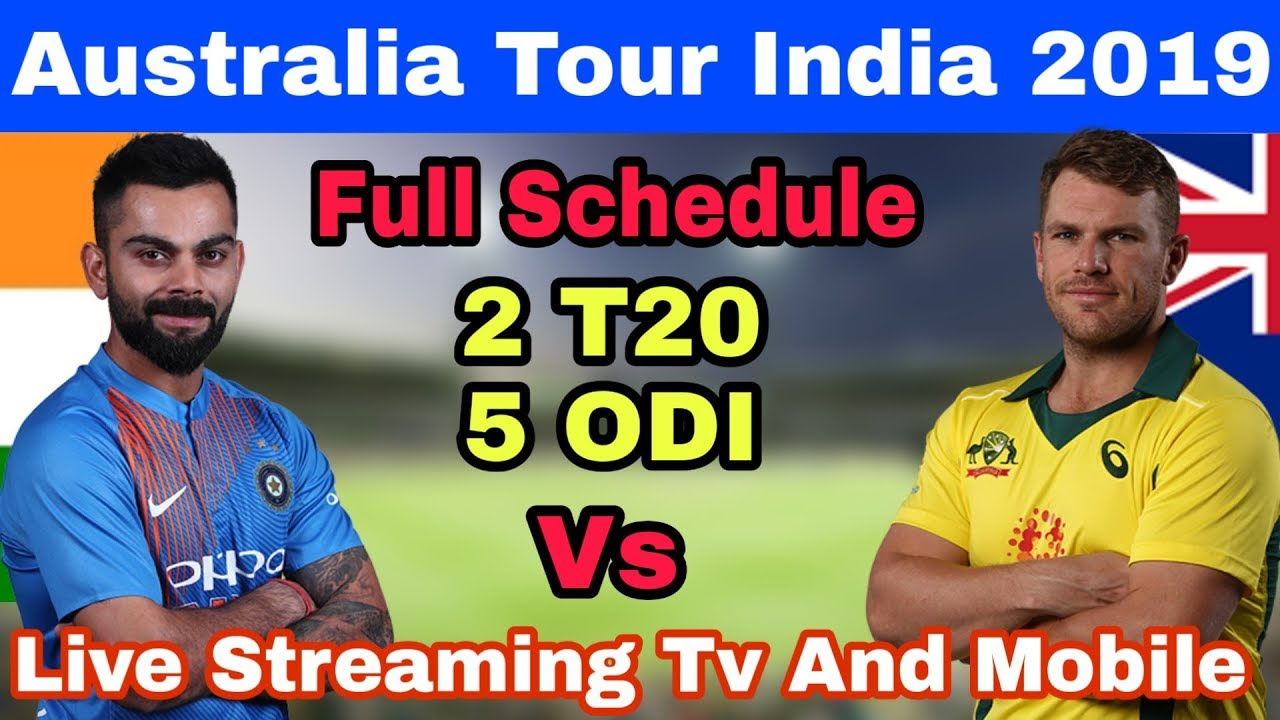 India vs Australia 4th ODI broadcast channels list: Where to Watch Ind vs Aus ...