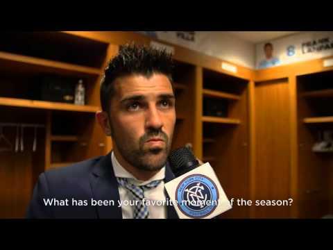 New York City FC vs. New England Revolution: David Villa Post-Match