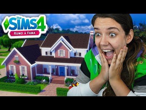 TEMOS UMA CASA NOVA! - The Sims 4 Rumo a Fama