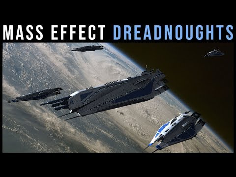 Dreadnoughts of the Mass Effect Universe | Mass Effect Lore Explained