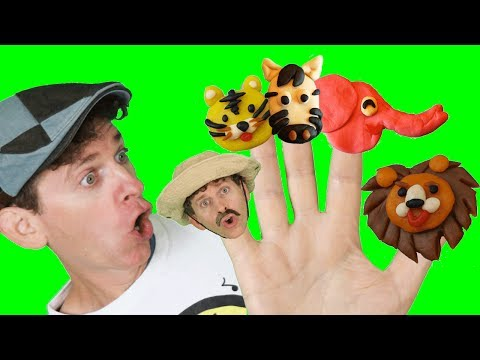 Finger Family Song - Zoo Animals With Matt | Nursery Rhymes, Children's Song | Learn English Kids