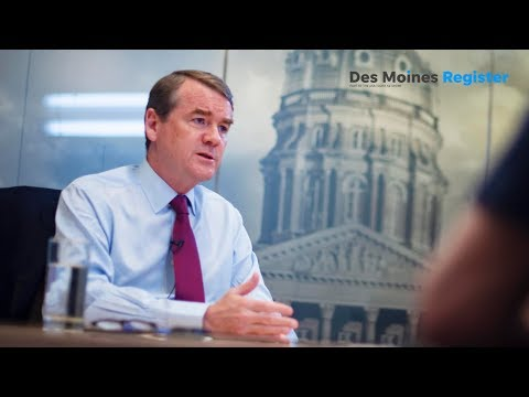 Iowa Caucus First Impressions: Michael Bennet pounds some truth into the campaign
