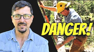 This Simple Loggers' Trick Could Save Your Life