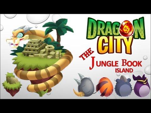 Dragon City - The Jungle Book Island [Full Tutorial & Walkthrough 2016]