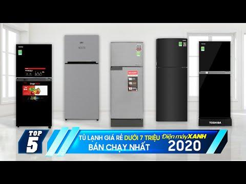 Top 5 tủ lạnh giá rẻ dưới 7 triệu bán chạy nhất năm 2020 tại Điện máy XANH