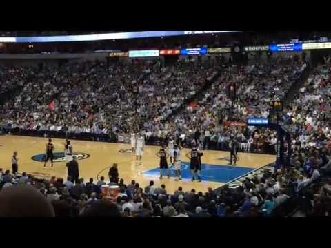 San Antonio Spurs @ Dallas Mavericks / April 10, 2014 / American Airlines Center, Section 116