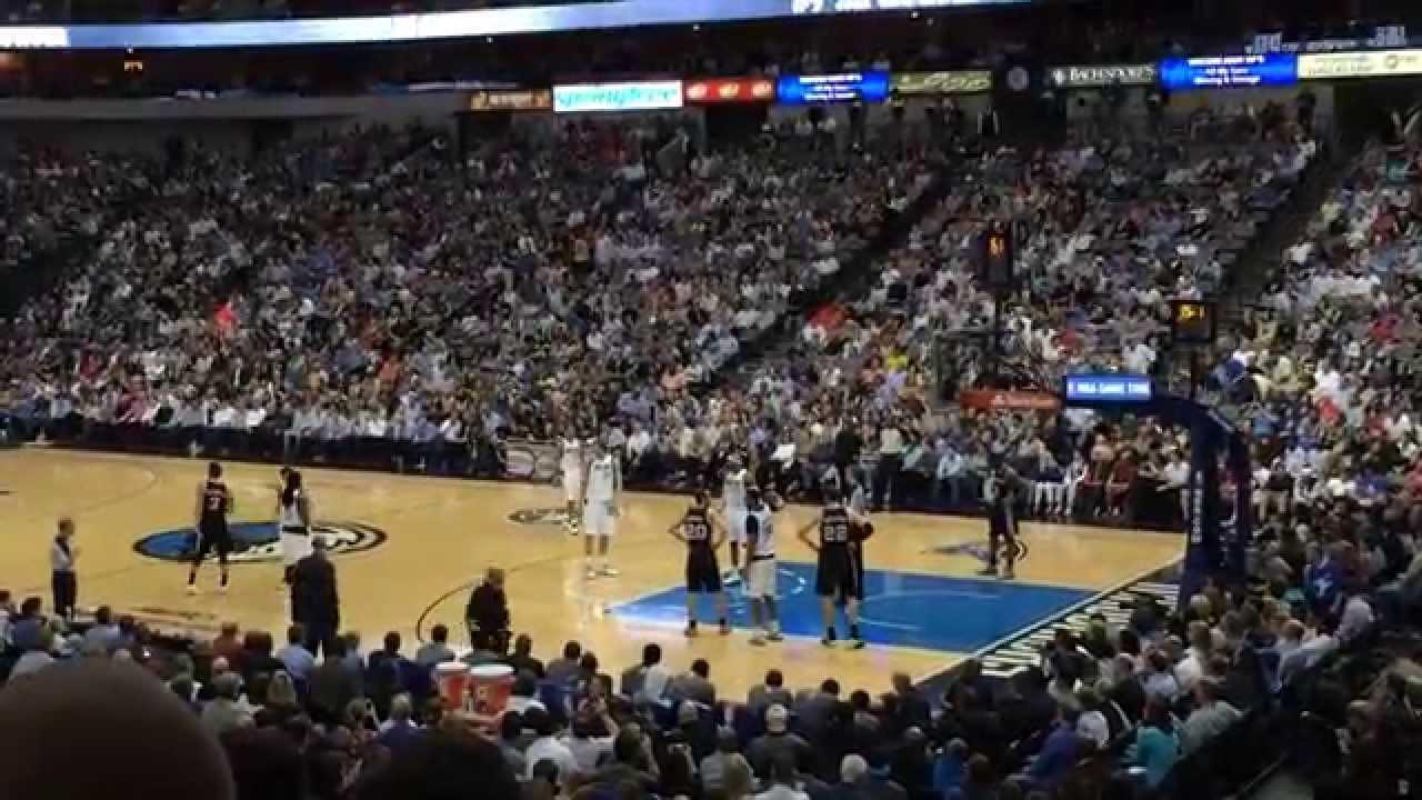 San Antonio Spurs Dallas Mavericks April 10 2014
