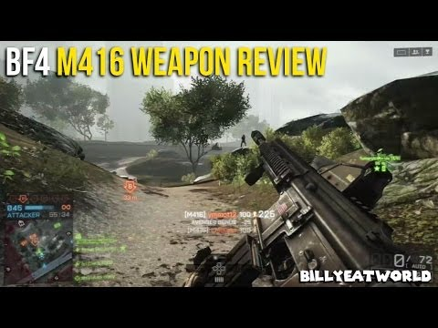 how to get m416 in battlefield 4