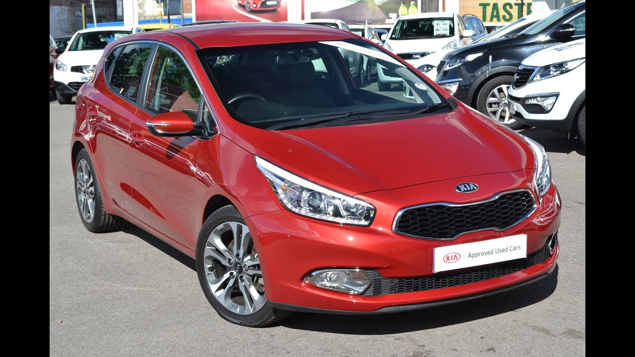 Wessex garages approved used kia ceed 4 ecodynamics on for Garage kia englos