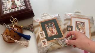 43 Оформленные работы и вышивальные покупки Есть ли шоппинг на карантине Вышивка крестом