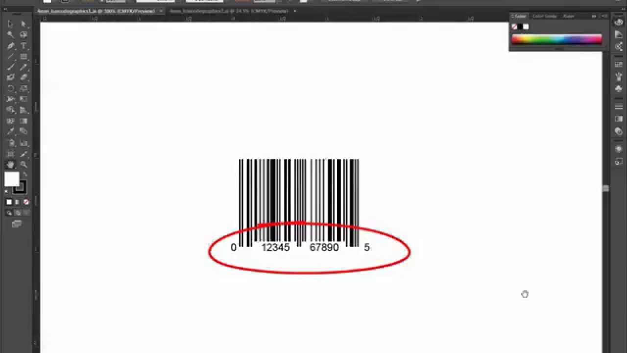 4 minute mentor -upc barcode to barcode art