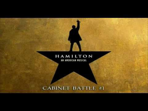 Cabinet Battle #1 karaoke instrumental Hamilton - YouTube