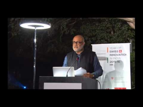 Architect Rahul Mehrotra presentation on Chandigarh & smart cities - A+D Design Dialogues event 2015