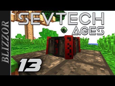 Abyssalcraft Ritual! + Shoggoth Monster - #13 SevTech Ages