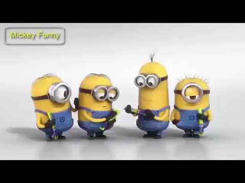 Mickey Funny Minions Crazy