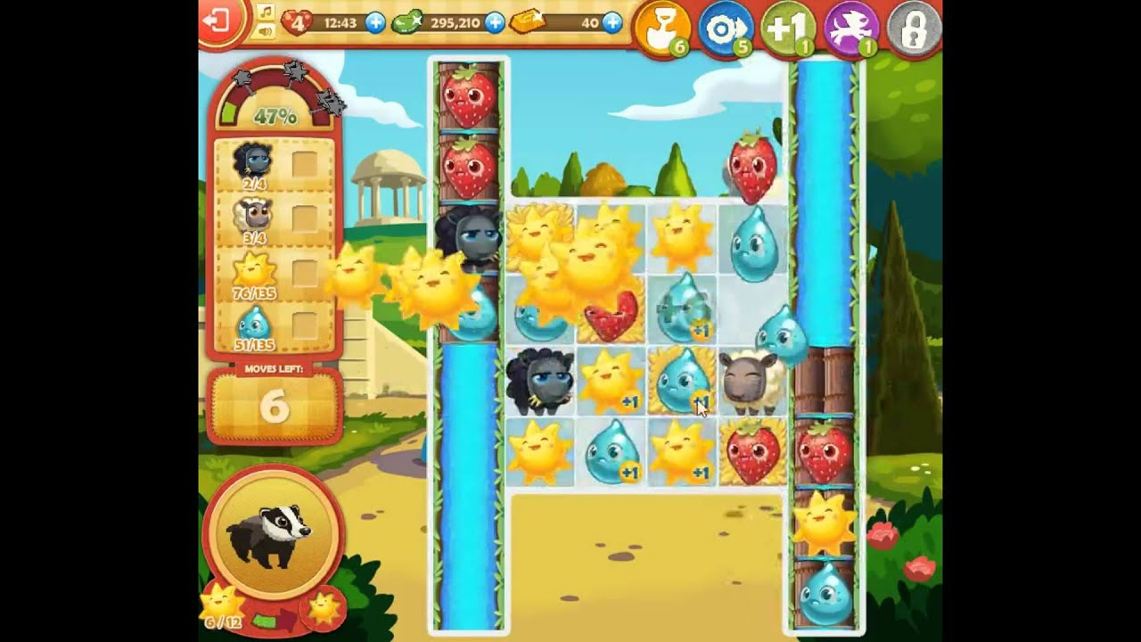 Farm Heroes Saga Level 1073 Youtube
