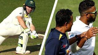 Doran downs three Sri Lankan fielders in five balls