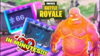 How to get Fortbytes 66 and 90 in MINUTES!!! - Fortnite Battle Royale