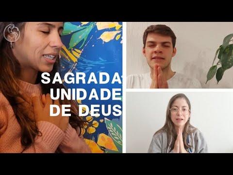 Oração: Sagrada Unidade de Deus, em diferentes idiomas