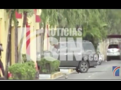 VIDEO: Momento en que cae abatido John Percival Matos en Bonao
