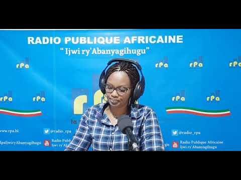 RPA :Amakuru yo kuwa 05 Ntwarante 2021 mushikirizwa na Inès Gakiza.
