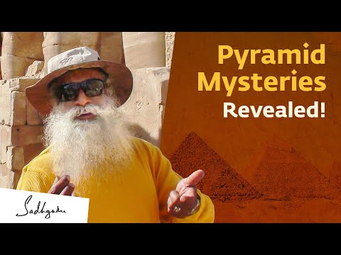 Sadhguru on Pyramid Meditation & How Pyramids Affect Prana