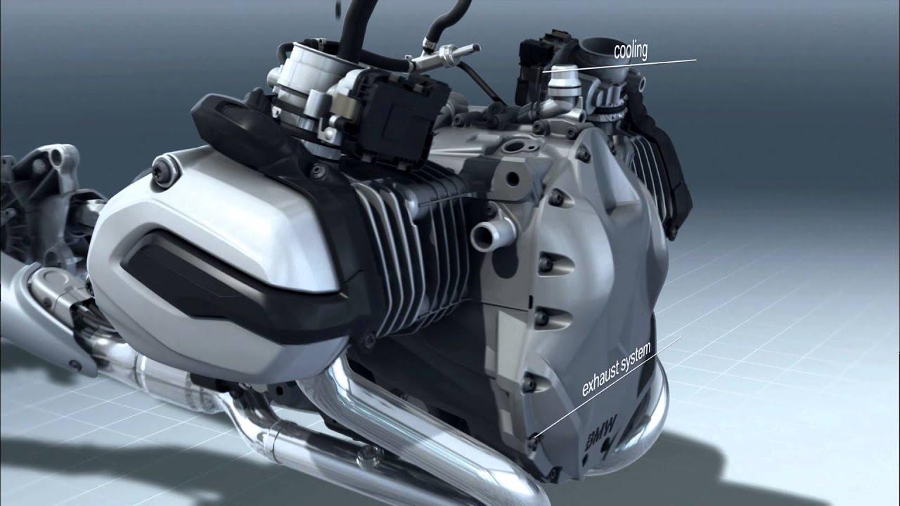 Motor Da Nova Bmw R 1200 Gs Youtube