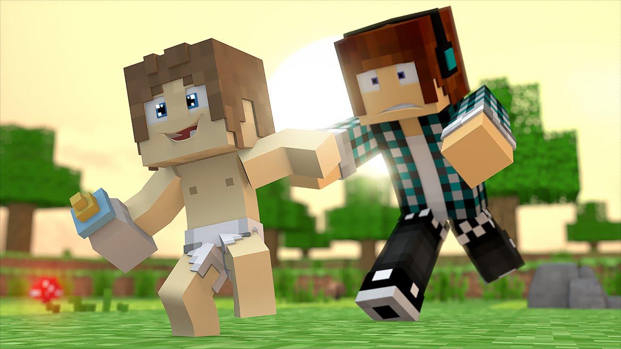 Meus Filhos São O Meu Orgulho: Minecraft : MEU FILHO FUGIU !! ( Encontre O Bebê )