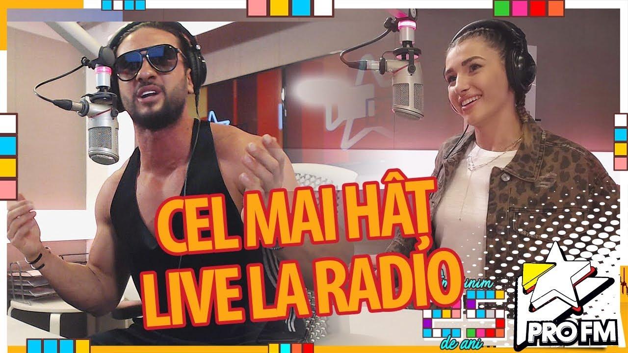 CEL MAI HATZ in direct la radio -  Dorian Popa & Alina Eremia   #ProFM25