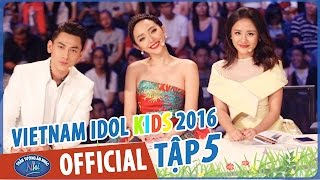 vietnam idol kids - than tuong am nhac nhi 2016 - top 6 nu - phat song 22052016