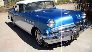 1956 Blue / White Buick Century Walkaround