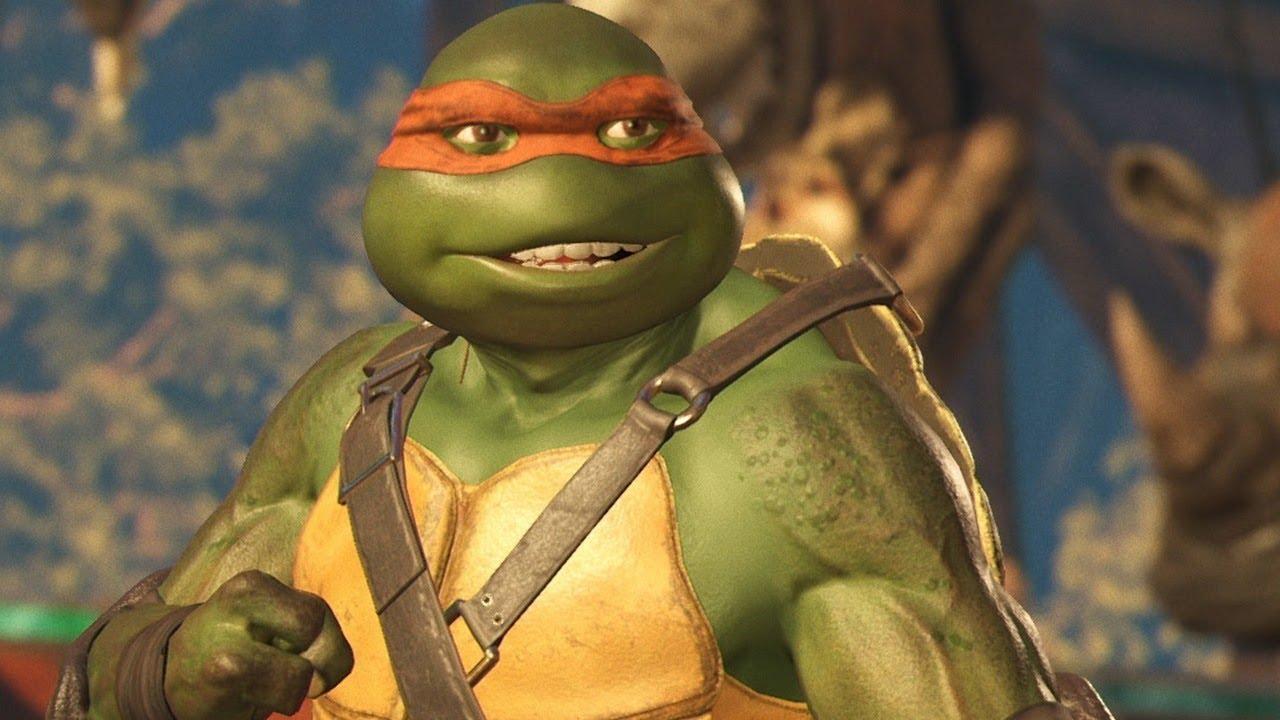Injustice 2: 7 Minutes of Ninja Turtles Gameplay