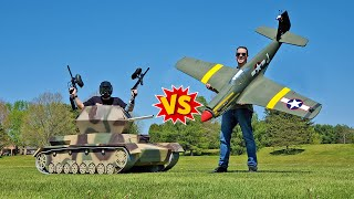 Giant Dive Bomber VS Flakpanzer Battle!😱