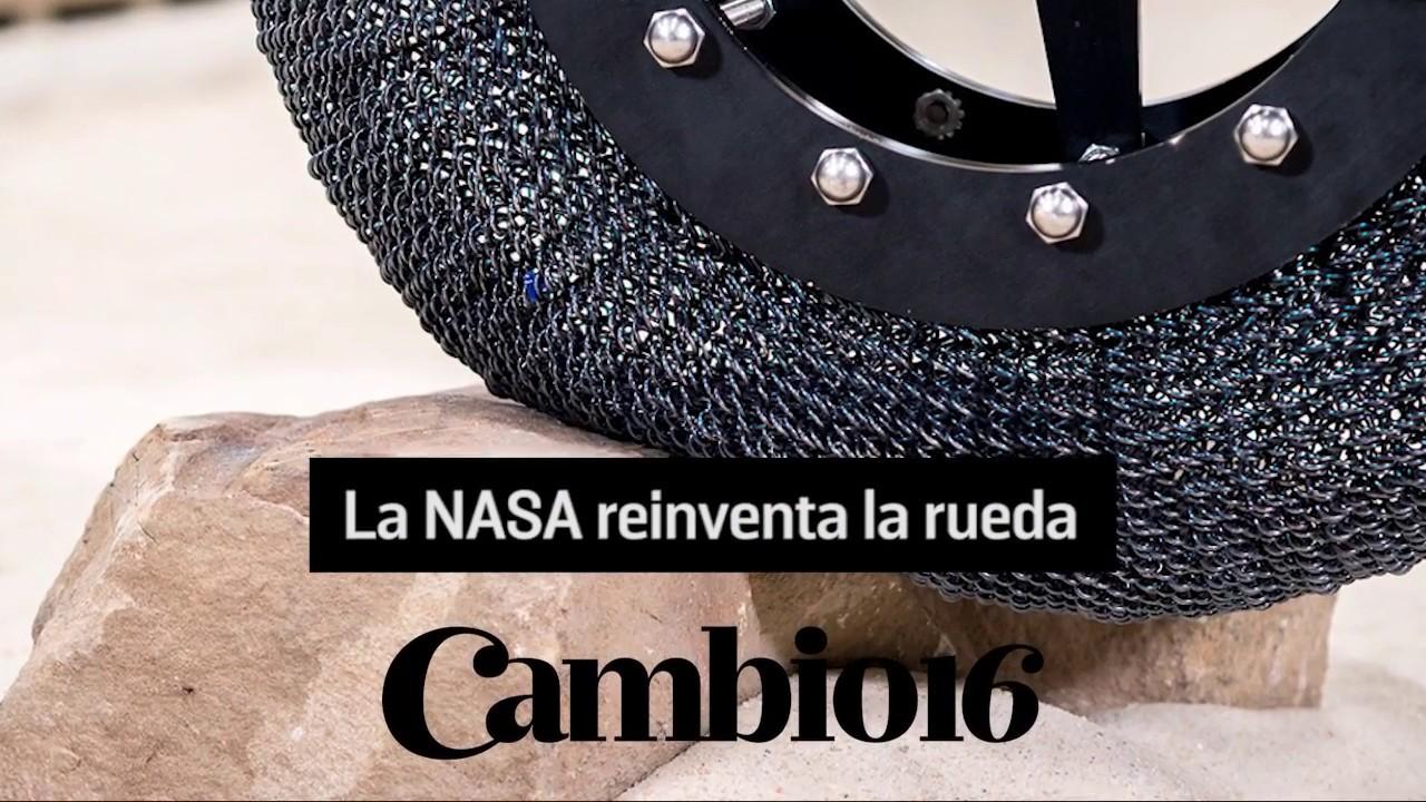 La rueda del futuro no se desinfla y es desarrollada por la NASA