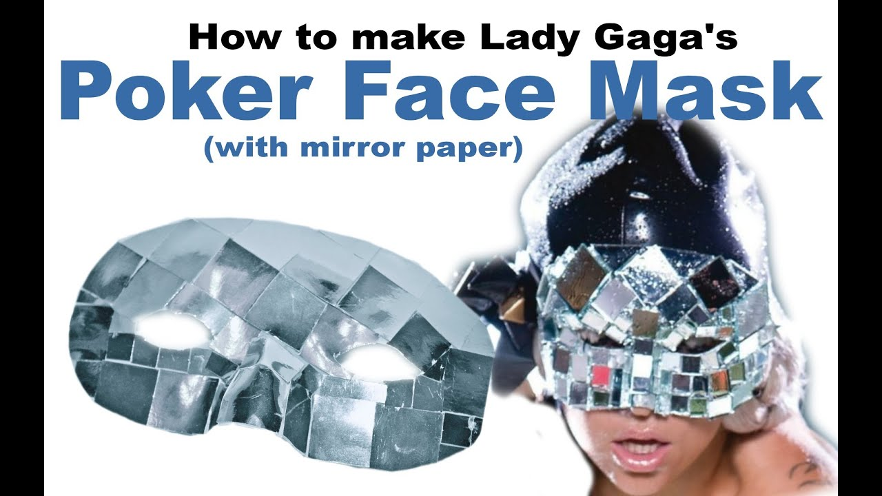 how to make poker face