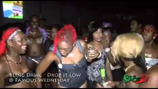 Jamaican Dancer Gone Insane  Bussin It Open With Cement Block On Her Face! 0